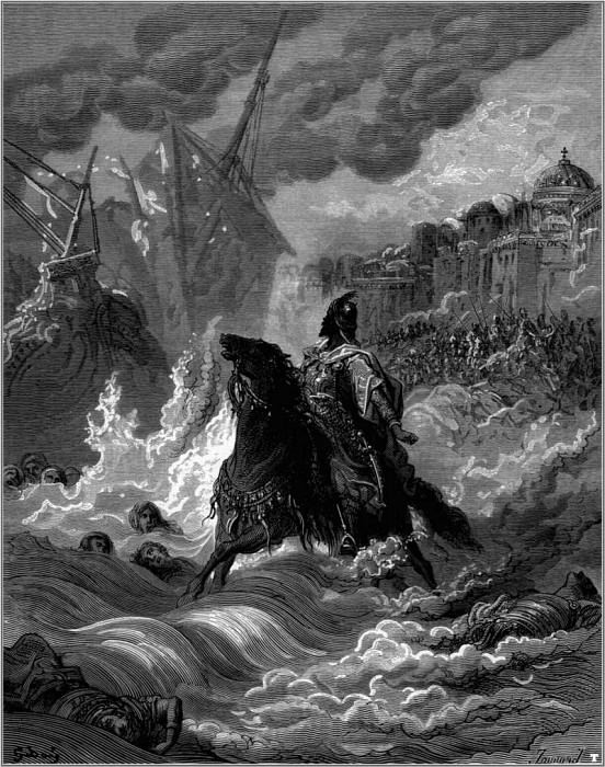 crusades muhammad II before constantinople. Gustave Dore