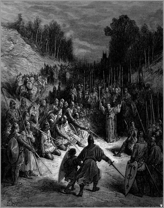 crusades peter the hermit. Gustave Dore