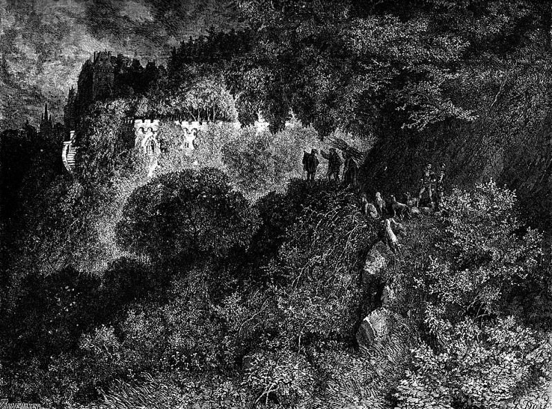 Seeing TheTowersTheKingsSonAskedWhatTheyWere. Gustave Dore