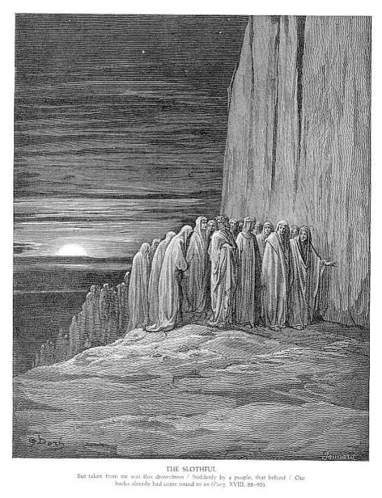 The Slothful. Gustave Dore