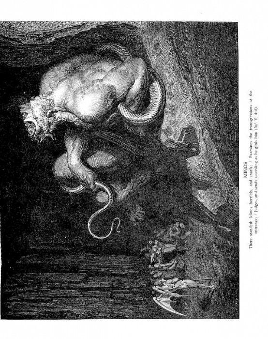Minos. Gustave Dore