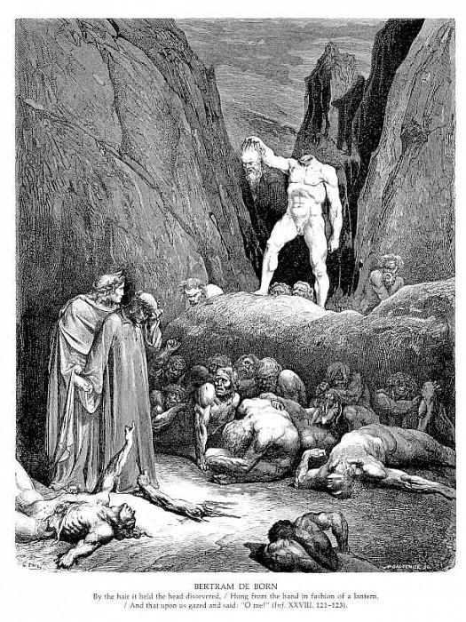 Bertram De Born. Gustave Dore