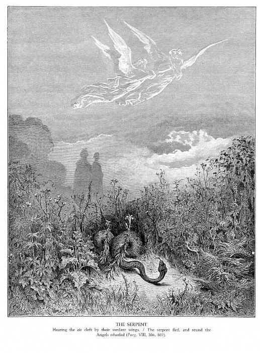 The Serpent. Gustave Dore