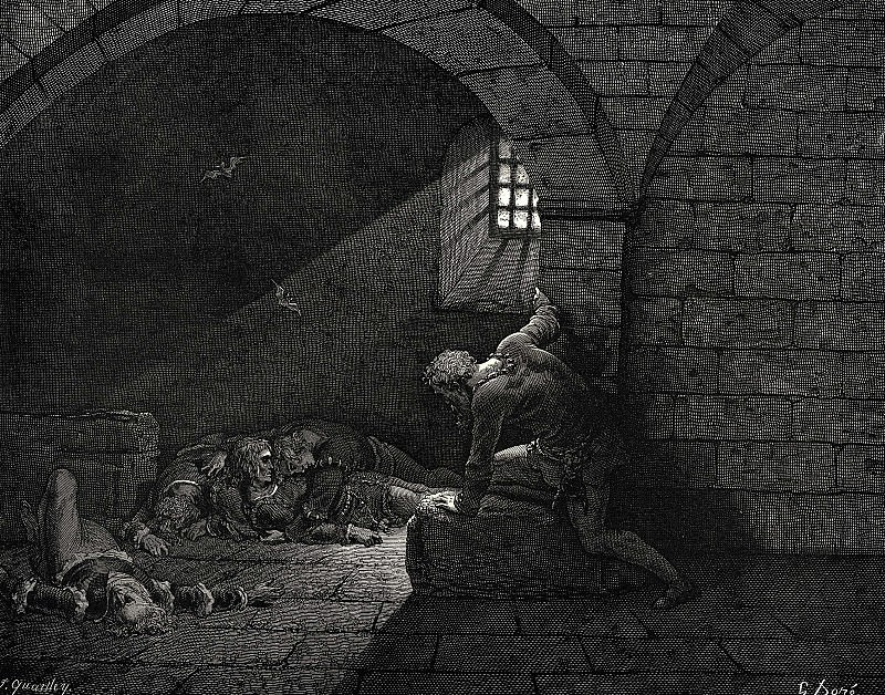 I called them for three days but they were dead. Gustave Dore