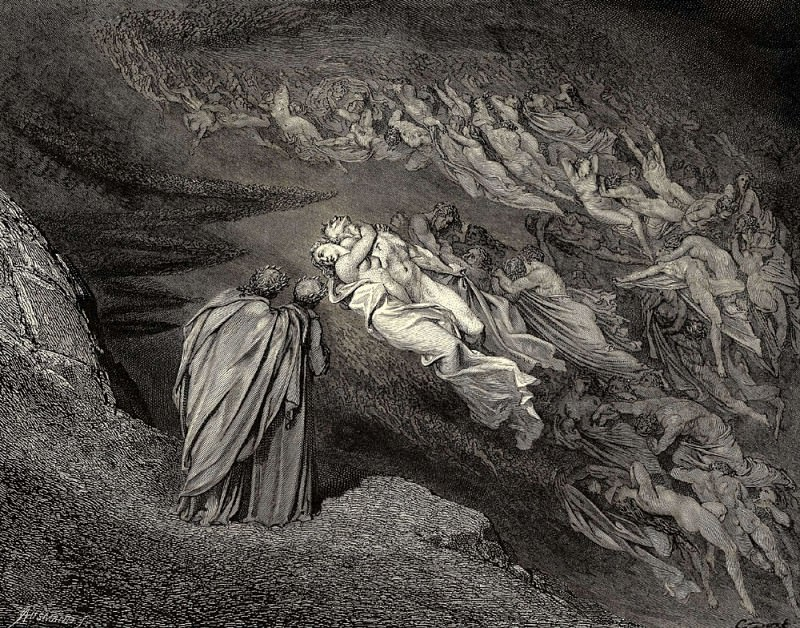Love brought us to one death Caina waits the soul who spilt our life. Gustave Dore