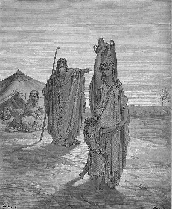 bible. Gustave Dore