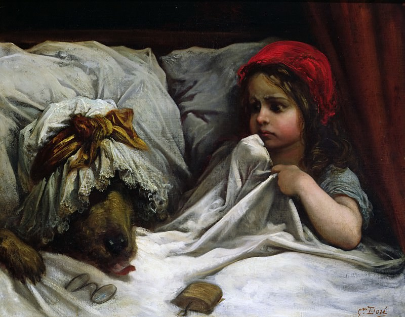Little Red Riding Hood. Gustave Dore