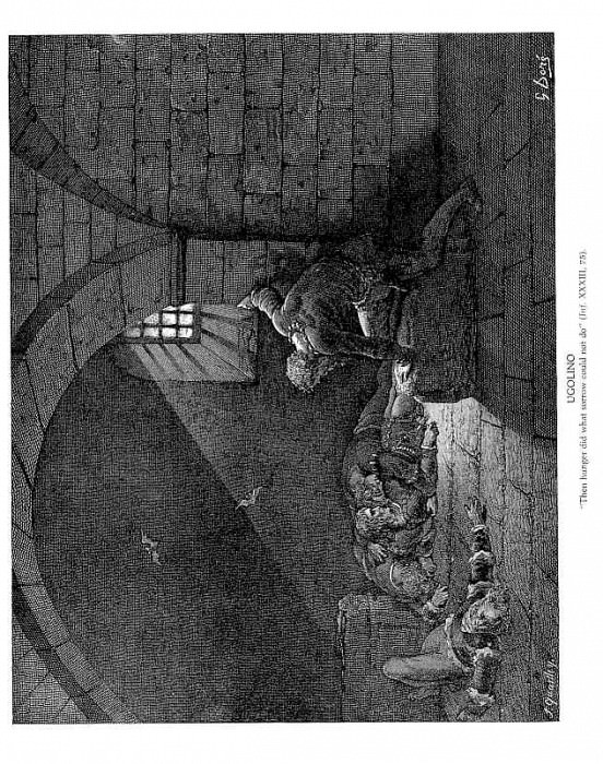 Ugolino. Gustave Dore