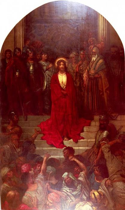 Dore Gustave Ecce Homo. Gustave Dore