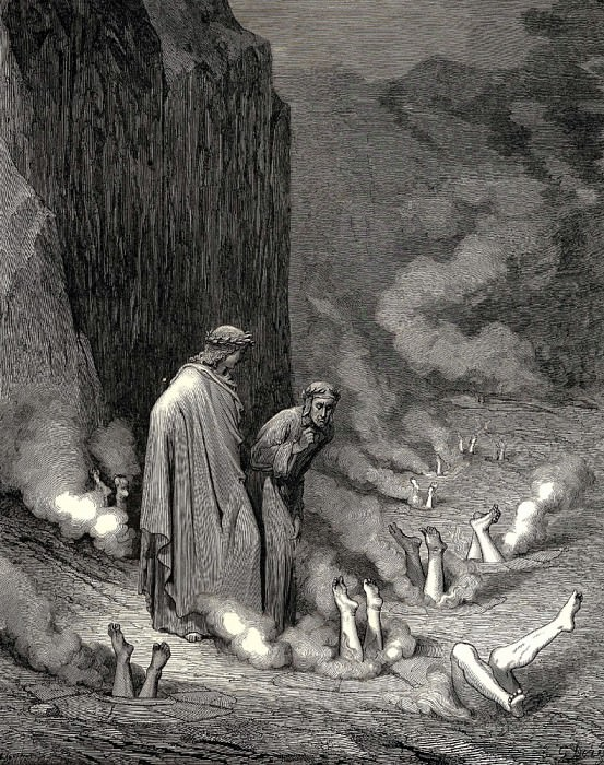 I was like a monk listening to the confessions of a mean murderer. Gustave Dore