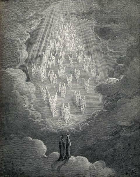 paradisio. Gustave Dore