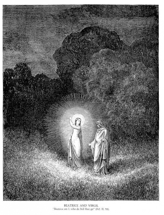 Beatrice & Virgil. Gustave Dore