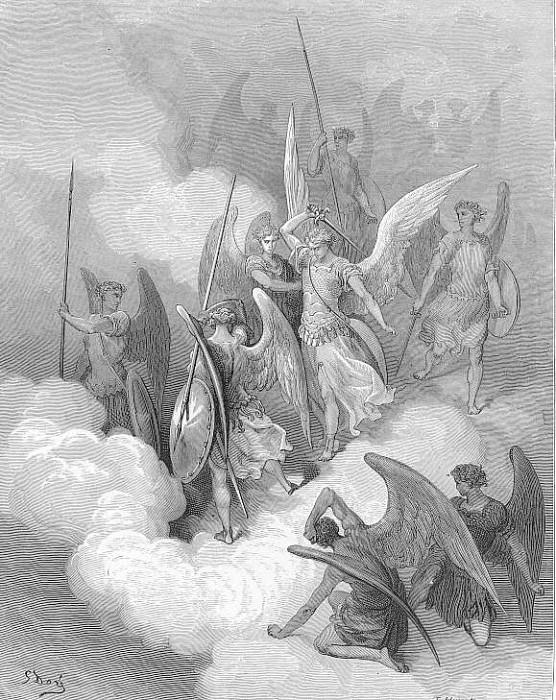 This greeting on thy impious crest receive. Gustave Dore
