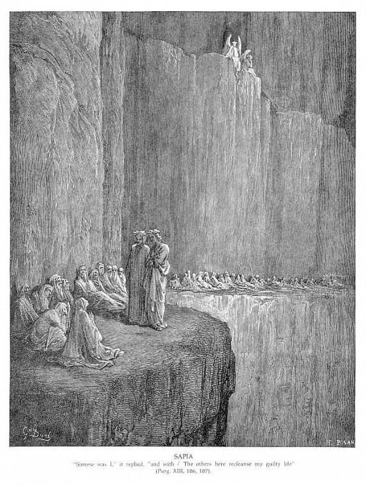 Sapia. Gustave Dore