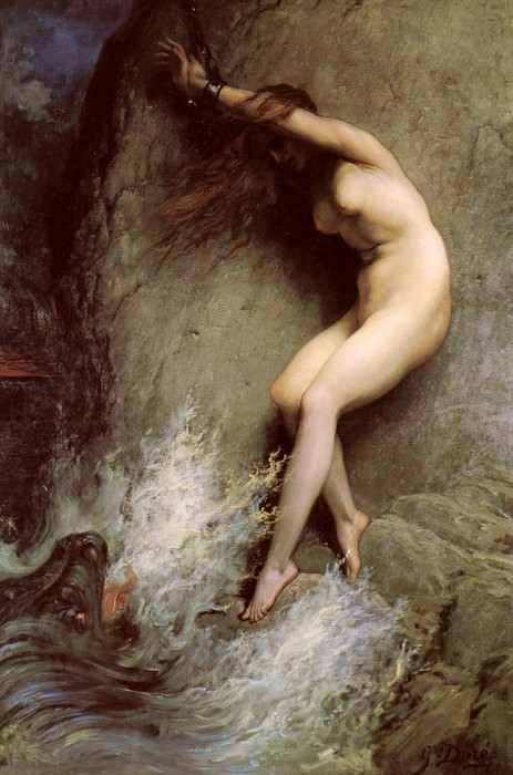 Andromeda. Gustave Dore