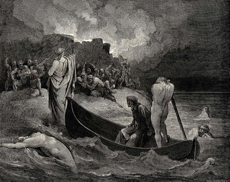 I could not hear what terms he offer-d them but they conferr-d not long. Gustave Dore