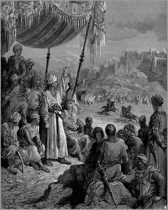 crusades tournament. Gustave Dore