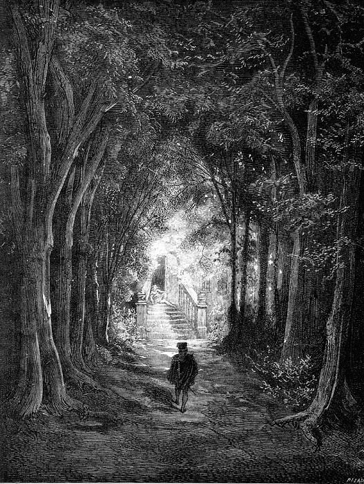 He TurnedIn The Direction Of The Castle. Gustave Dore