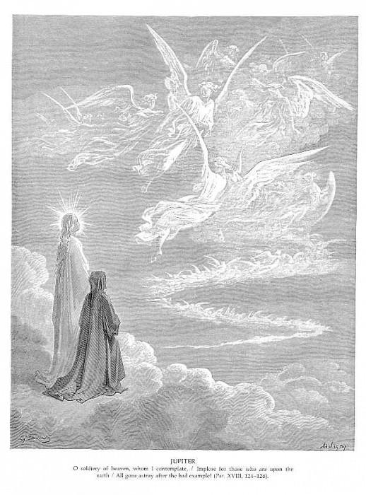 Jupiter II. Gustave Dore