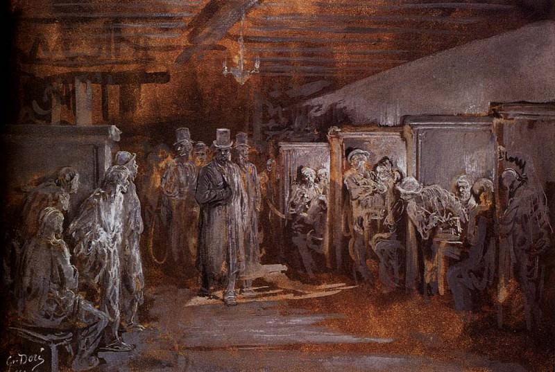 Tavern In Whitechapel. Gustave Dore
