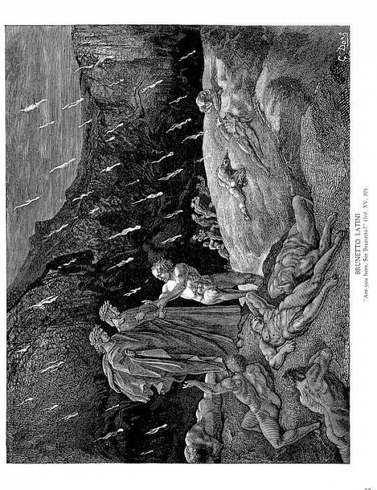 Brunetto Latini. Gustave Dore
