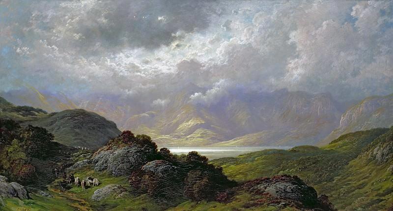 Scottish Landscape. Gustave Dore
