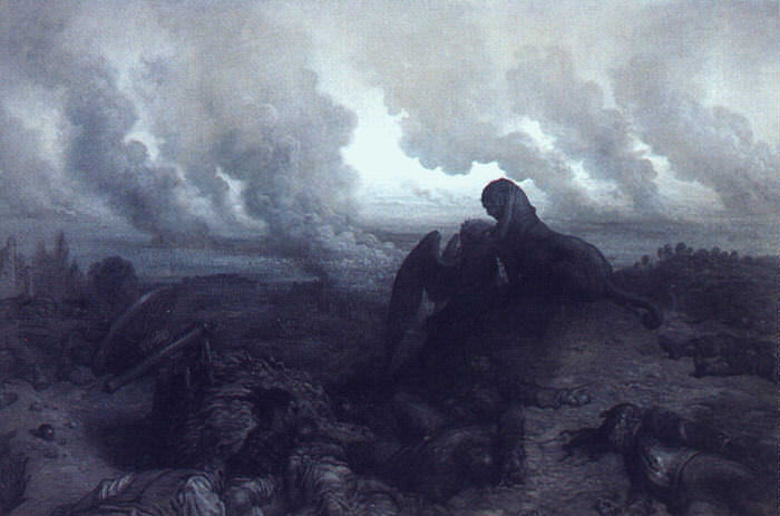 Загадочная тварь, 1871. Гюстав Доре