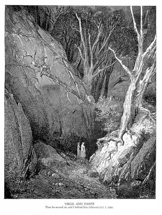 Virgil and Dante. Gustave Dore