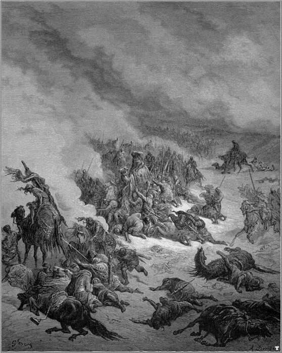 crusades against granada. Gustave Dore