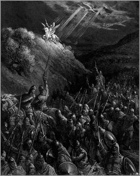 crusades george mt olives. Gustave Dore