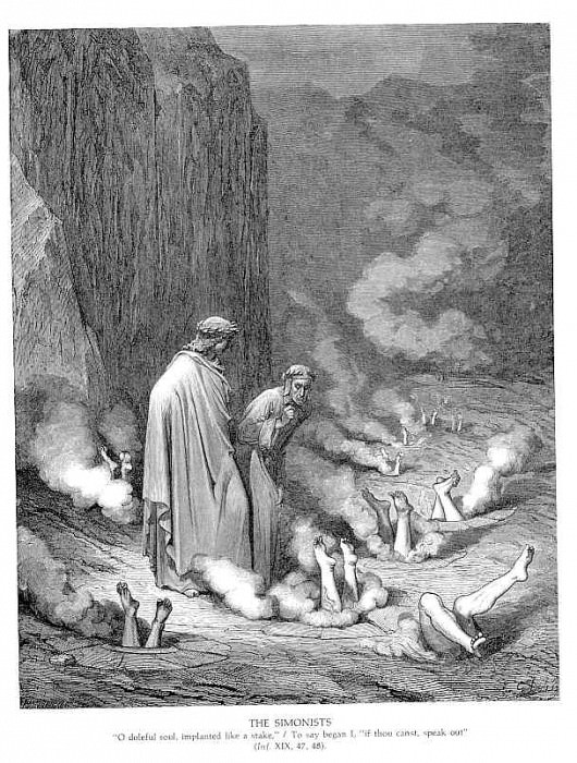 The Simonists. Gustave Dore