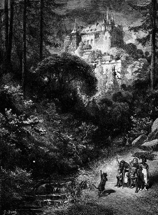The Cat Had Taken Care To Find Out Who This Ogre Was. Gustave Dore