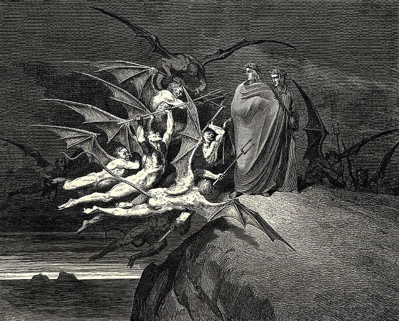 Be none of you outrageous. Gustave Dore