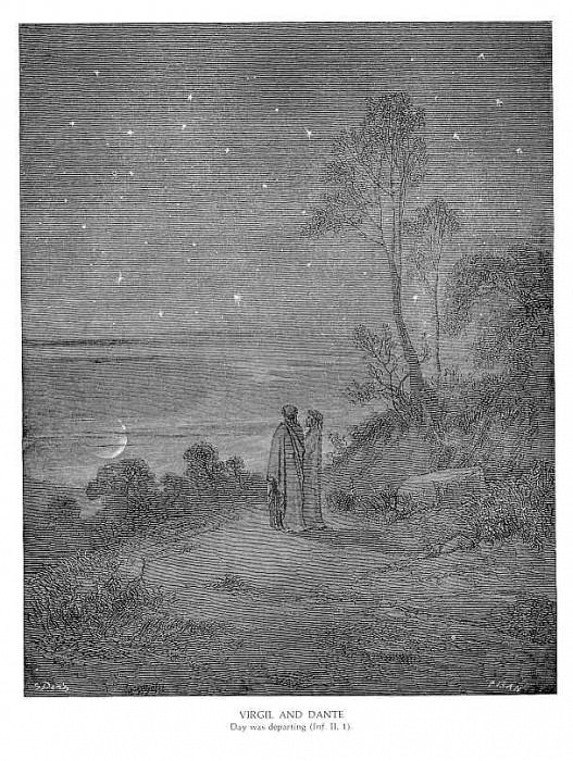 Virgil and Dante II. Gustave Dore