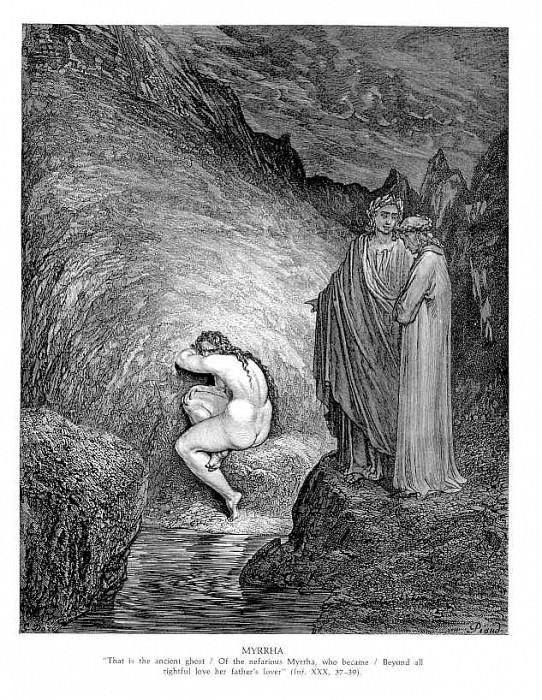 Myyrha. Gustave Dore