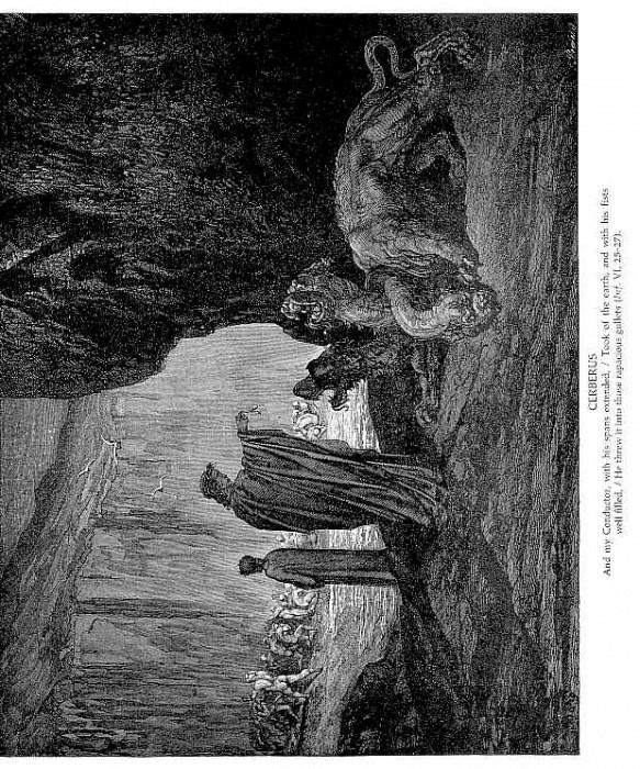 Cerberus. Gustave Dore