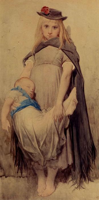 Jeune Mendiant. Gustave Dore