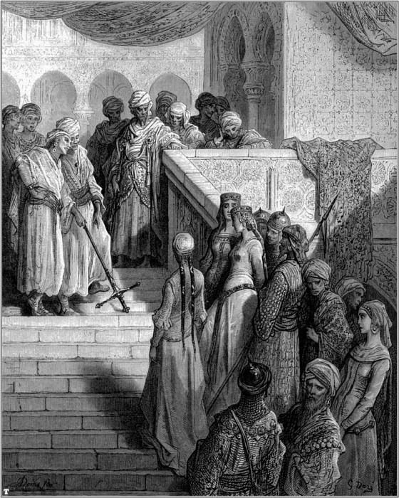 crusades captives. Gustave Dore
