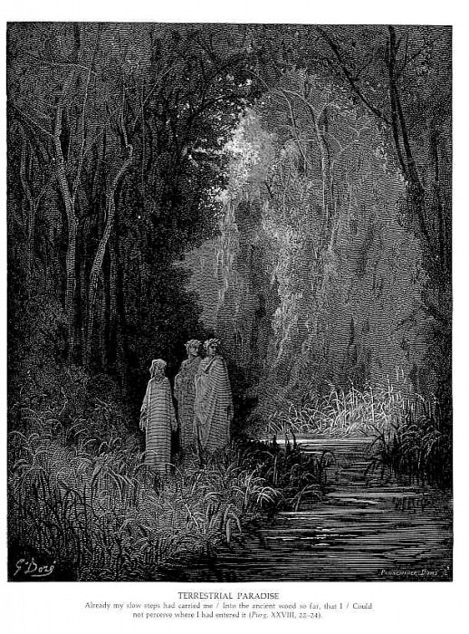 Terrestrial Paradise. Gustave Dore