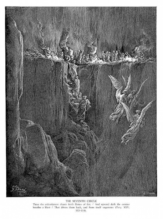 Dante 101 The Seventh Circle. Gustave Dore