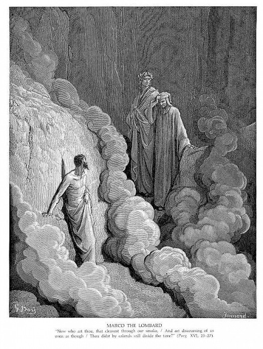 Marco the Lombard. Gustave Dore