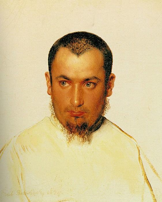 Голова камольденского монажа, 1834. Поль Деларош