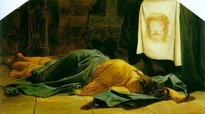 Святая Вероника, ок.1865. Поль Деларош