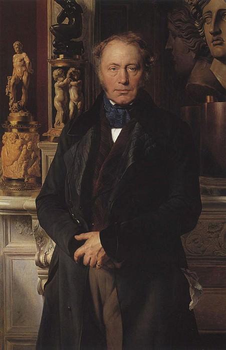 Портрет графа. Поль Деларош