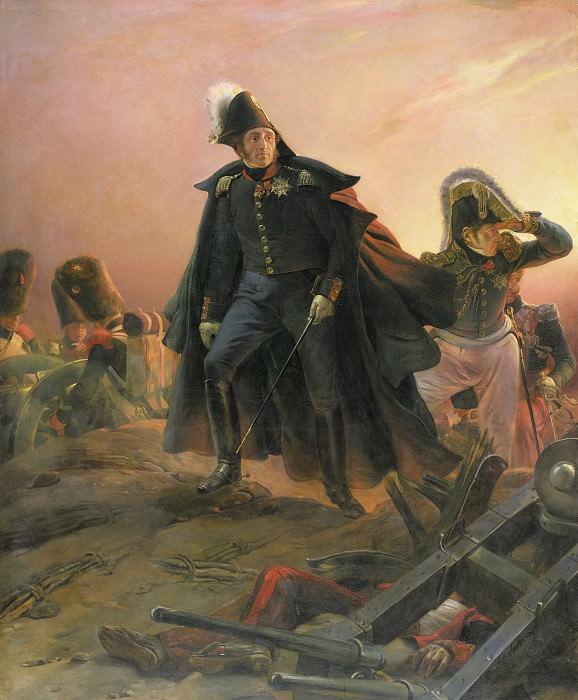 Герцог Ангулемский при захвате Трокадеро 31 августа 1823 г., 1828. Поль Деларош