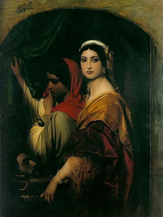 herodias 1843. Поль Деларош