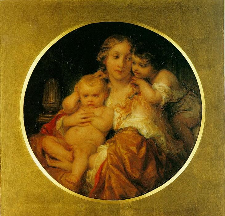 Мать и дитя. Поль Деларош