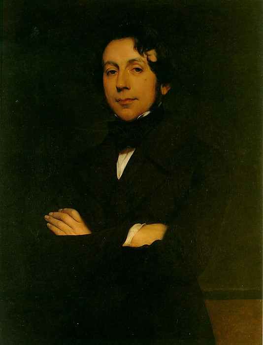 Шарль де Ремюза, 1845. Поль Деларош
