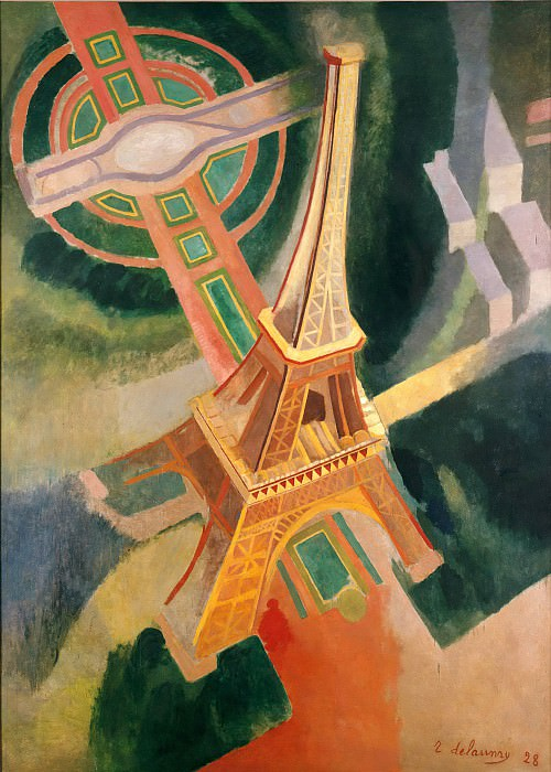 Eiffel Tower. Robert Delaunay
