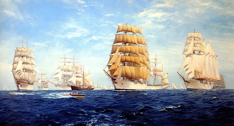 Tall Ships Bermuda. J Steven Dews